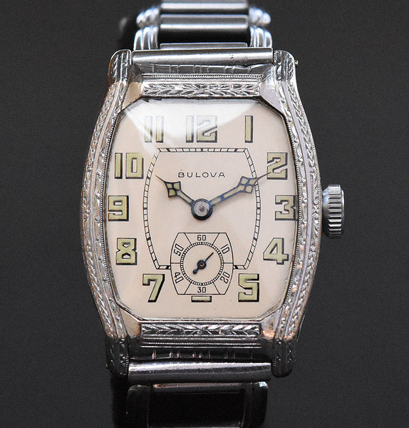 1928 BULOVA Gents Art Deco Watch