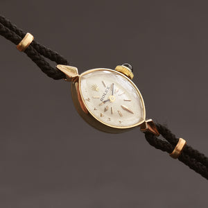 50s ROLEX Ladies 14K Cocktail Watch