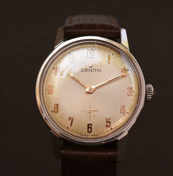 60s ZENITH Classic Swiss Gents Vintage Watch