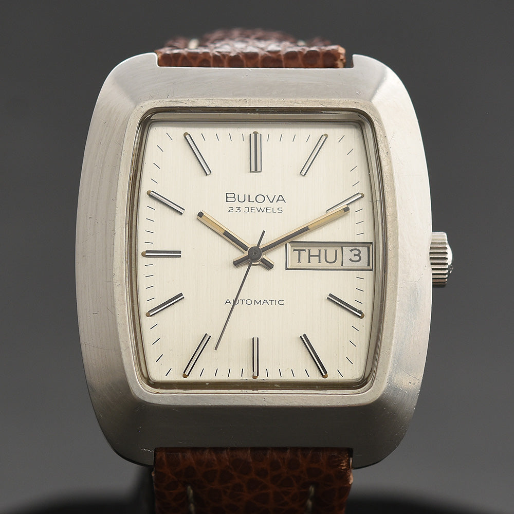 1973 BULOVA 'Minute Man' Automatic 23 Day/Date Vintage Gents Watch