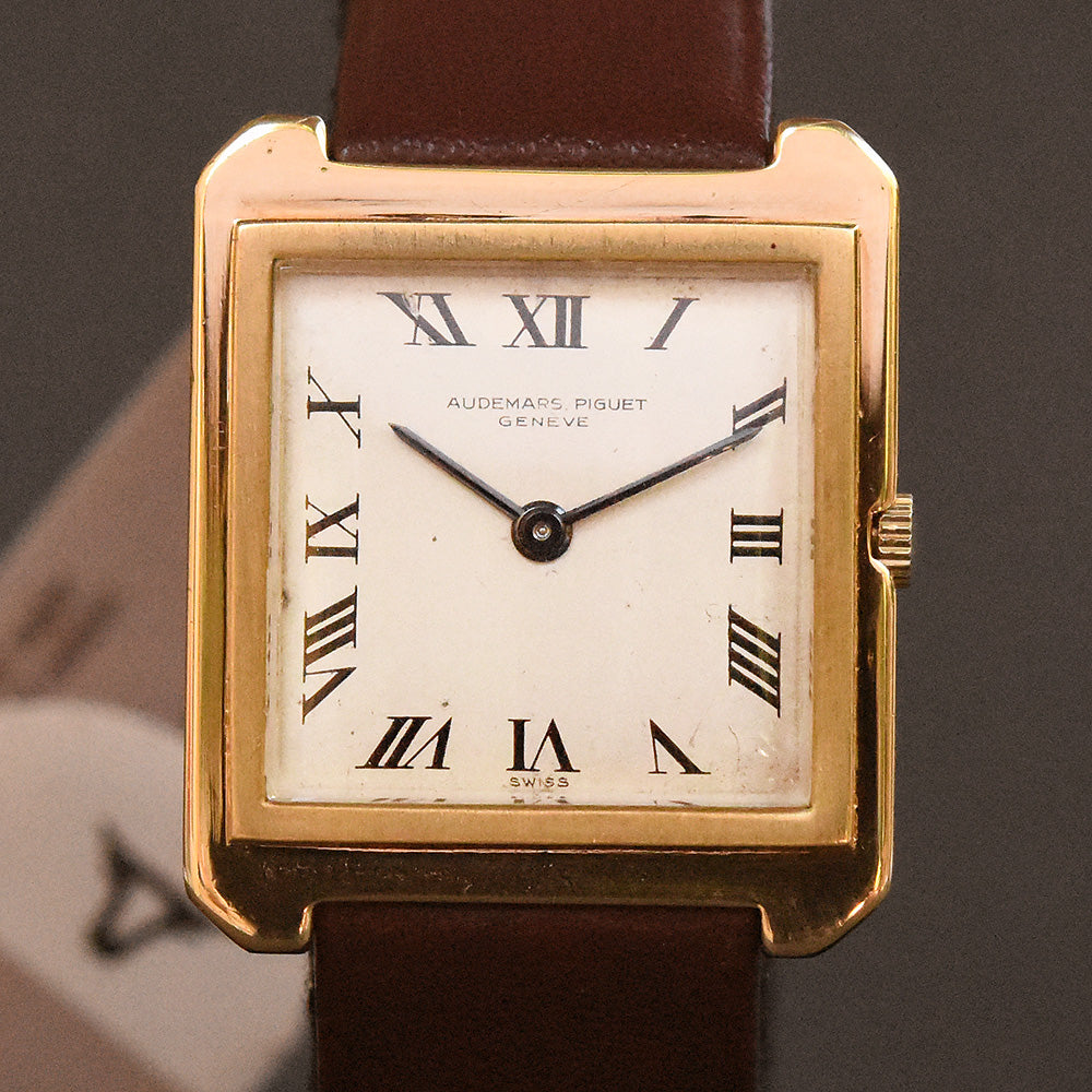 60s AUDEMARS PIGUET Gents 18K Slim Dress Watch