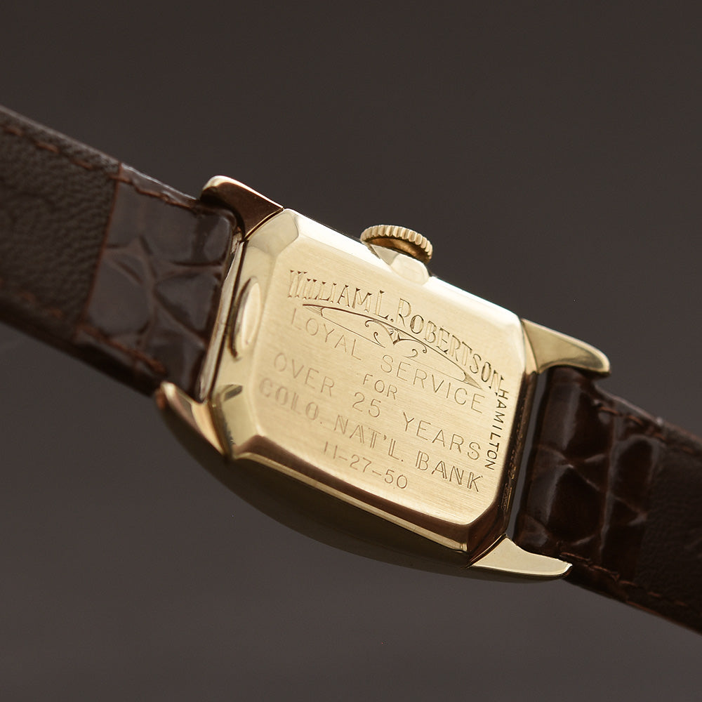 1946 HAMILTON USA 'Boulton' Gents Dress Watch