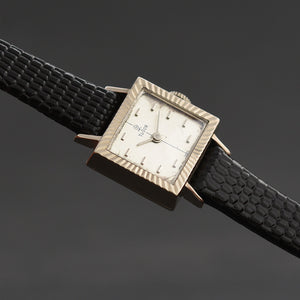 60s ROLEX TUDOR 18K White Gold Ladies Watch