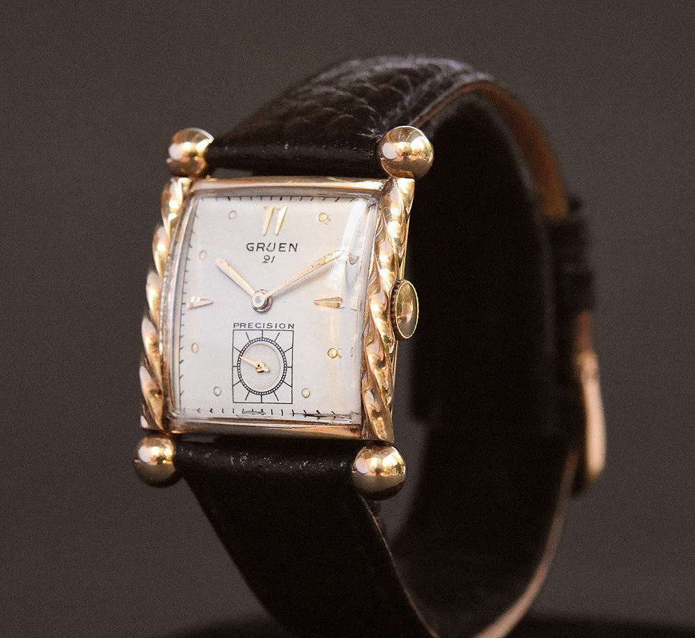 1944 GRUEN USA 21 Gents Dress Watch