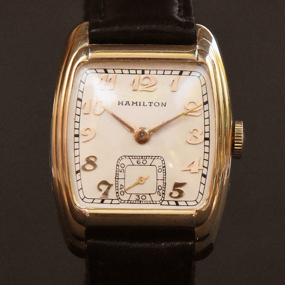 1937 HAMILTON USA 'Sydney' Gents Dress Watch