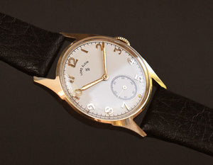1951 LORD ELGIN USA 14K Solid Gold Gents Dress Watch