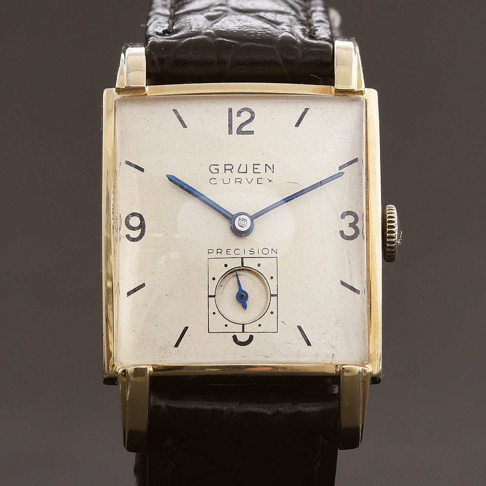 1947 GRUEN Curvex 'Eclipse' Gents Dress Watch 440-575