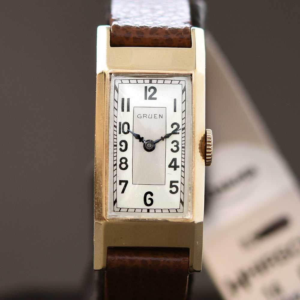 1936 GRUEN Gents Art Deco Dress Watch