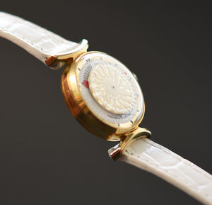 70s ERNEST BOREL Cocktail® White Ladies Vintage Watch