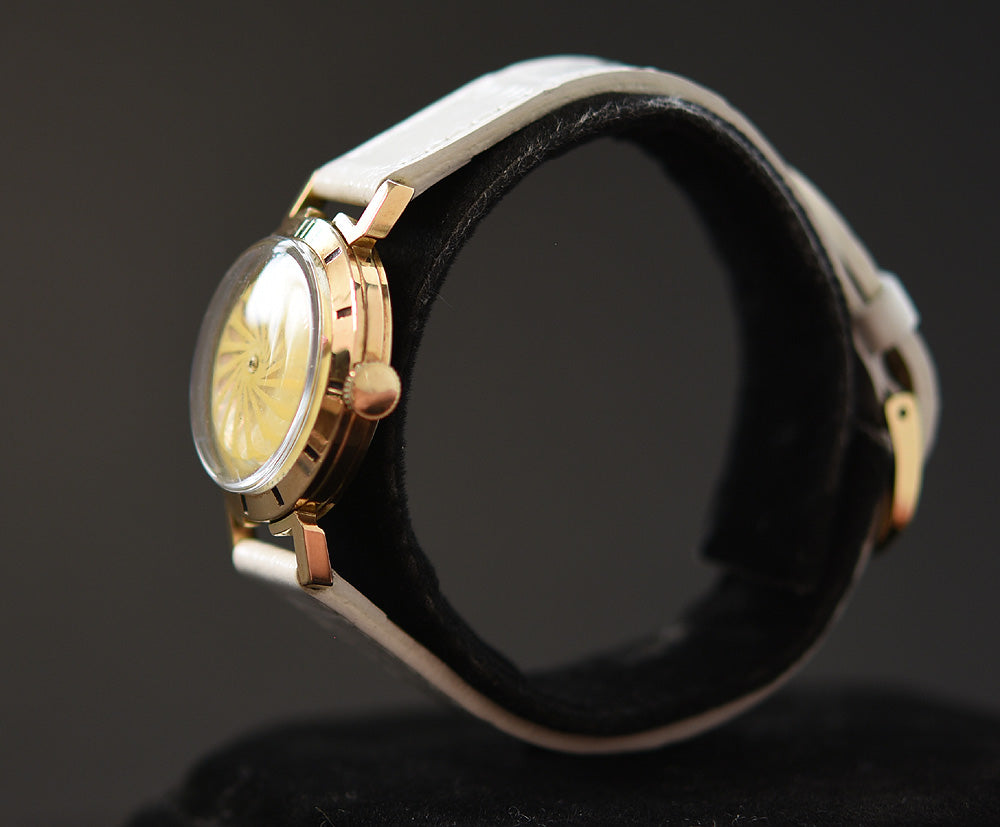 50s ERNEST BOREL Cocktail® Cream Ladies Vintage Watch