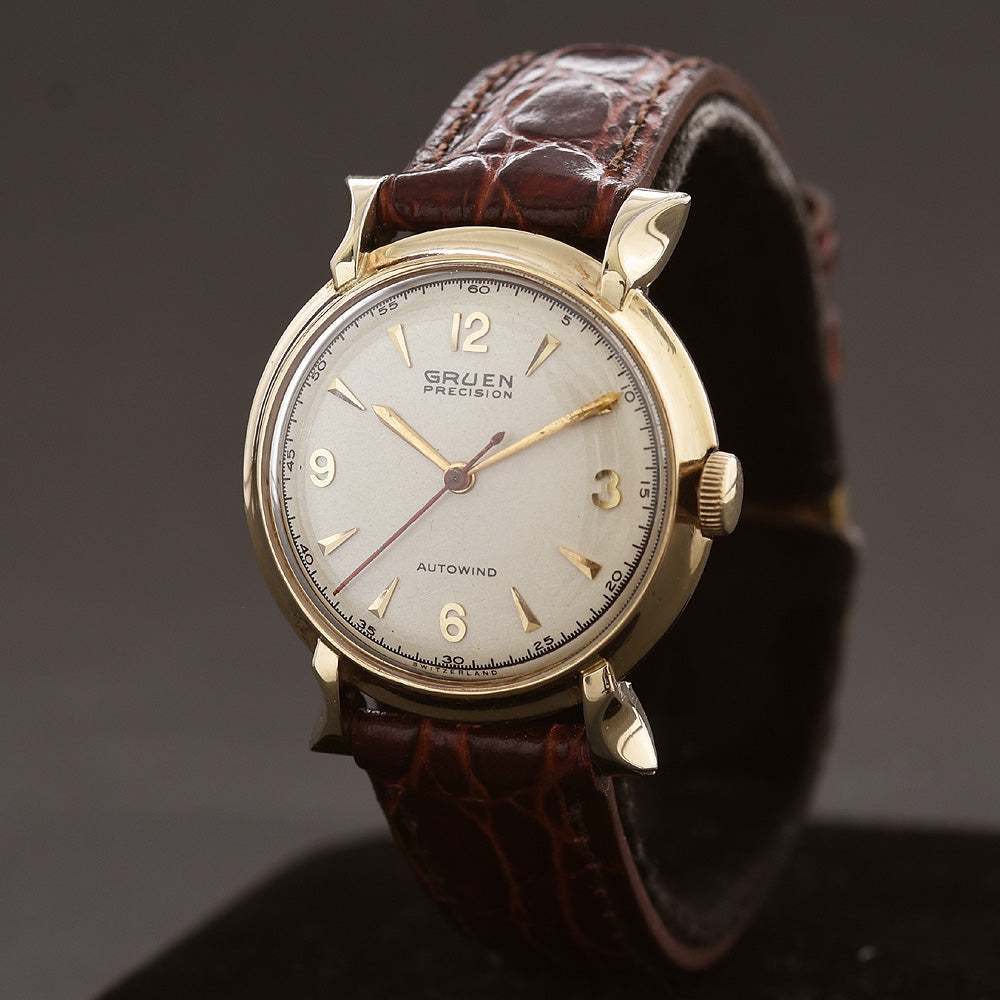 1950 GRUEN Autowind Bumper Gents Watch 460SS-688