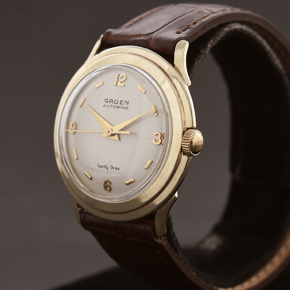 1956 GRUEN Autowind 'twenty three' Gents Classic Watch 430SS-957