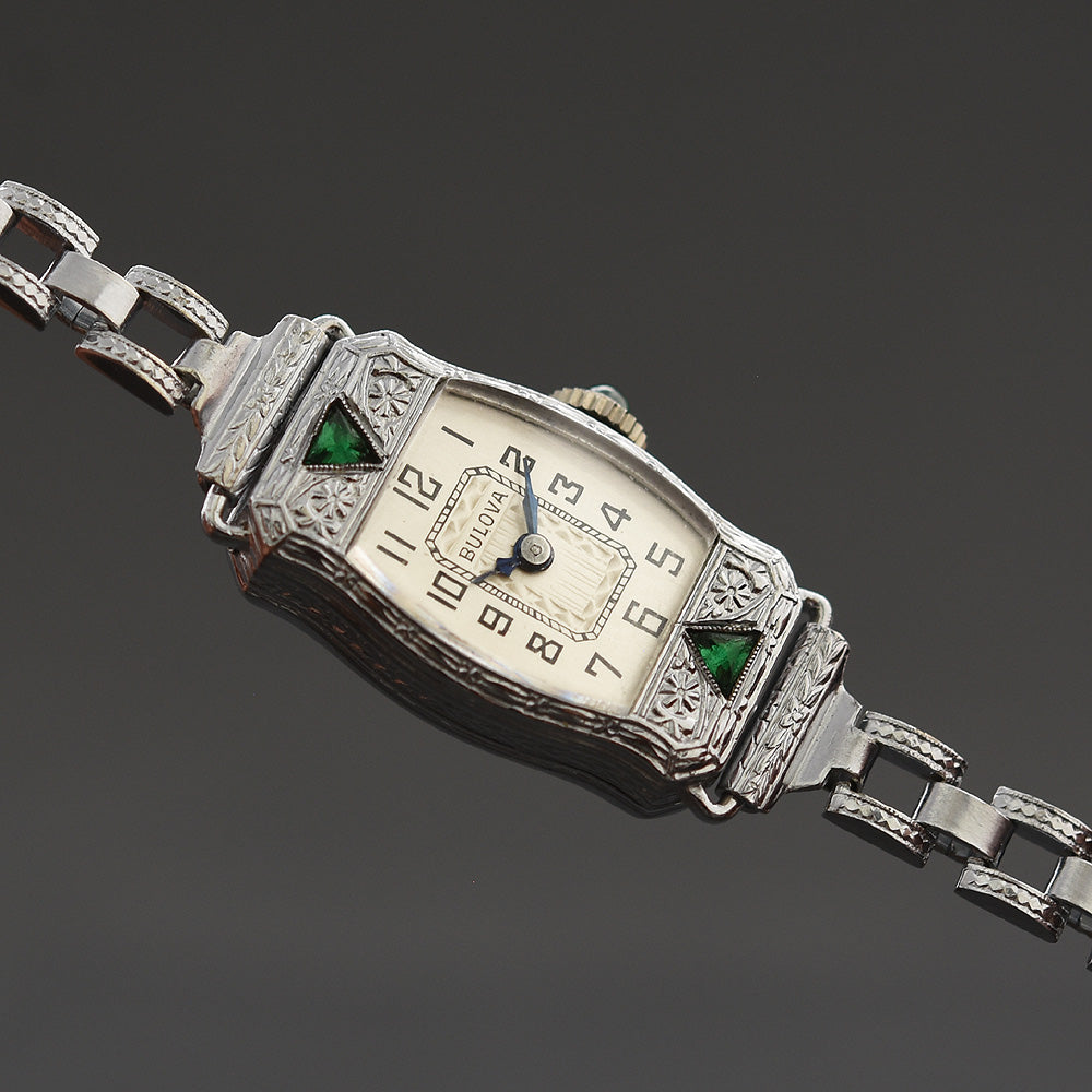 1928 BULOVA 'Doris' Ladies Art Deco Watch