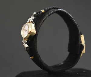 50s BENRUS 14K Gold Ladies Vintage Cocktail Watch