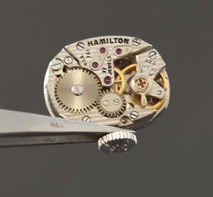 1965 HAMILTON 'Danica' 14K Gold Cocktail Watch