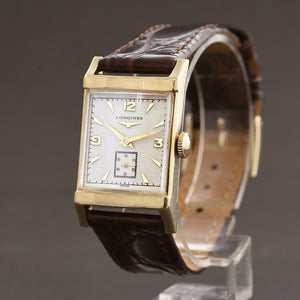 1954 LONGINES 'Pres. Harrison' Gents 14K Solid Gold Vintage Watch