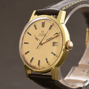 1971 OMEGA Genève Automatic Date Vintage Gents Watch 166.0098