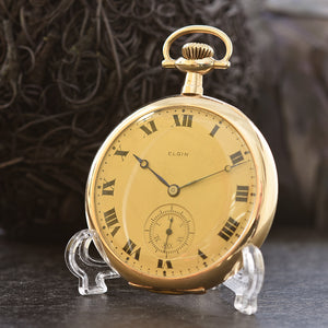 1911 ELGIN USA Classic Slim Gents Pocket Watch
