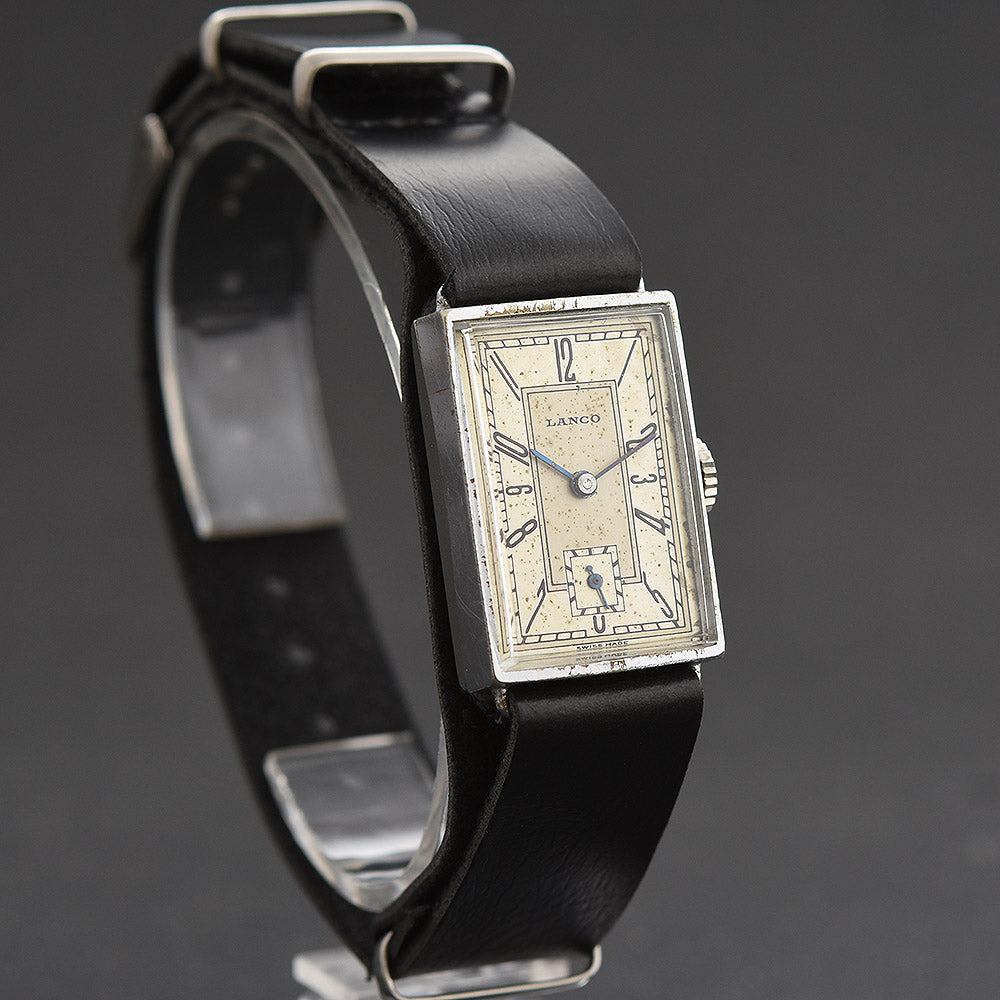 30s LANCO Gents Art Deco Watch