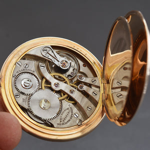 1911 E. HOWARD USA Gents Classic Open Face Pocket Watch