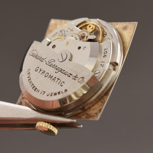 50s GIRARD-PERREGAUX Gyromatic Large Gents Watch