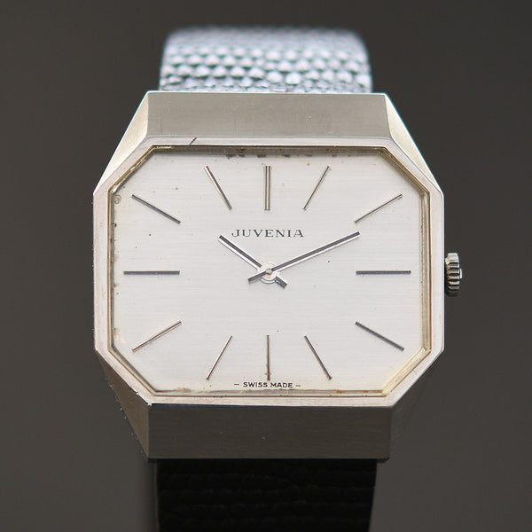 60s JUVENIA Gents Vintage Stainless Steel Watch