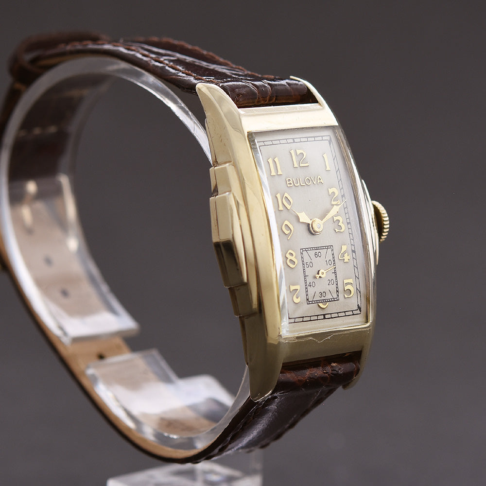 1939 BULOVA 'Banker' Gents Art Deco Watch