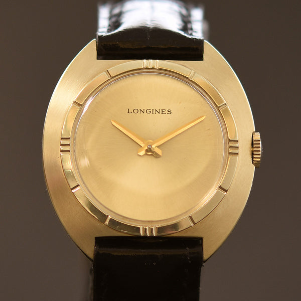 70s LONGINES Unisex Vintage Dress Watch