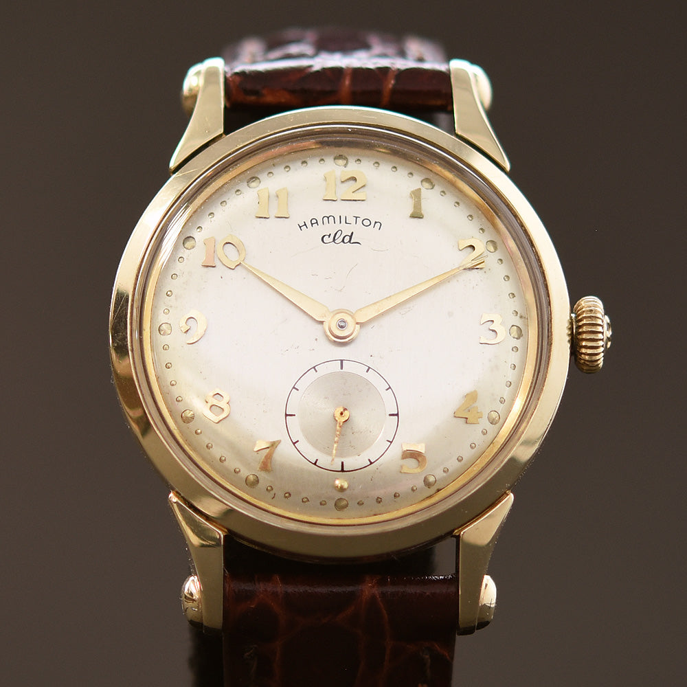 1954 HAMILTON USA 'Haddon' Gents Dress Watch