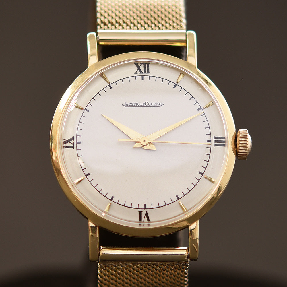 40s JAEGER LECOULTRE Ref. 2953 Swiss 18K Gold Watch