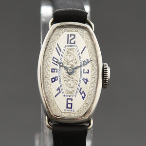 20s ORATOR 0.935 Silver Ladies Art Deco Watch