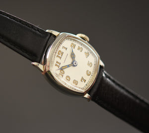1912 LONGINES Gents Cushion Art Deco Watch