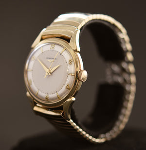 1950 LONGINES 'Commander' Gents Sweep Seconds Swiss Vintage Watch