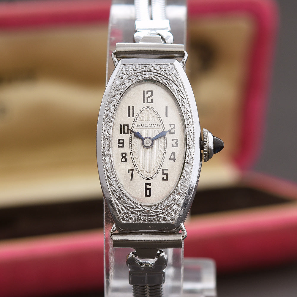 1929 BULOVA 'Dauphine' Ladies Art Deco Watch