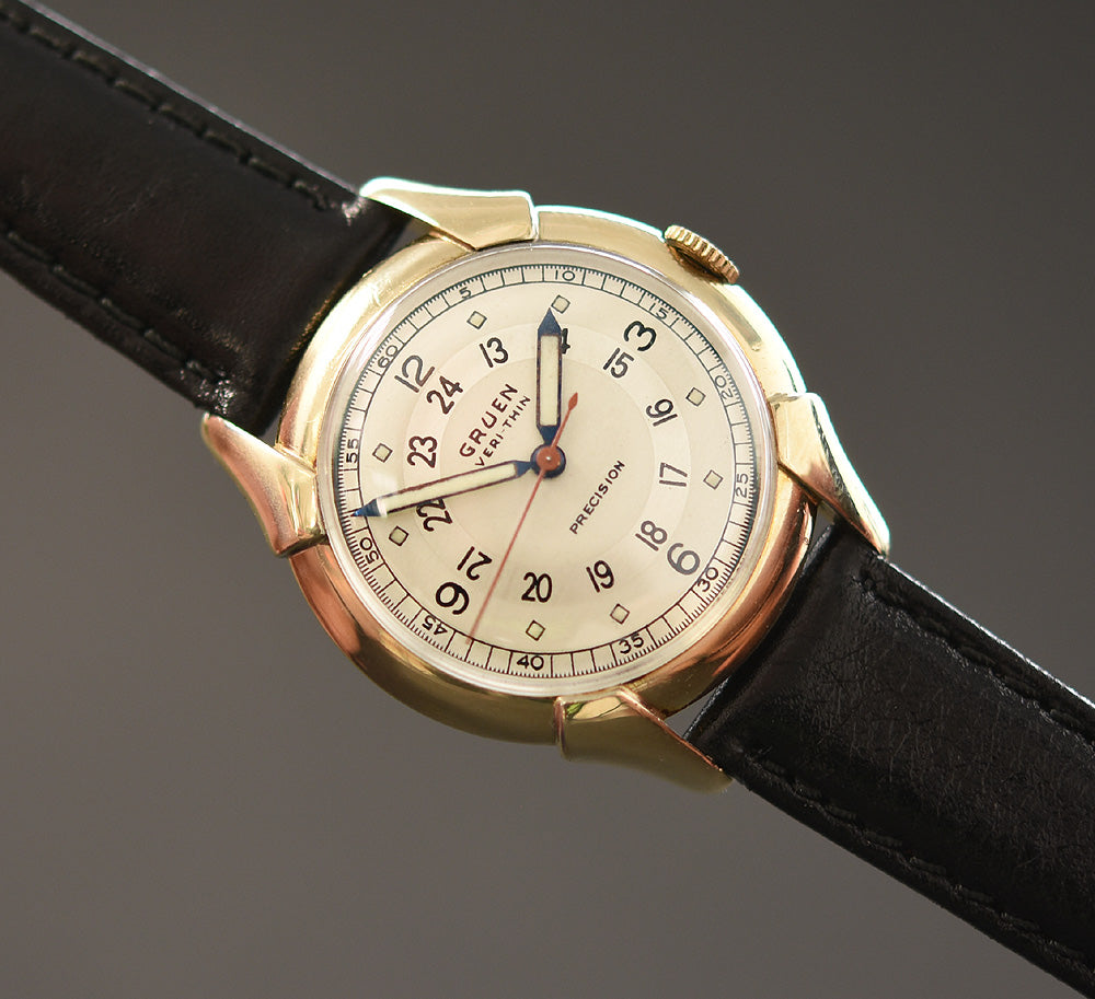1944 GRUEN 'Pan Am' Veri-Thin Gents Dress Watch