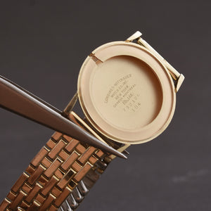 1960 LONGINES Gents 14K Solid Gold Dress Watch