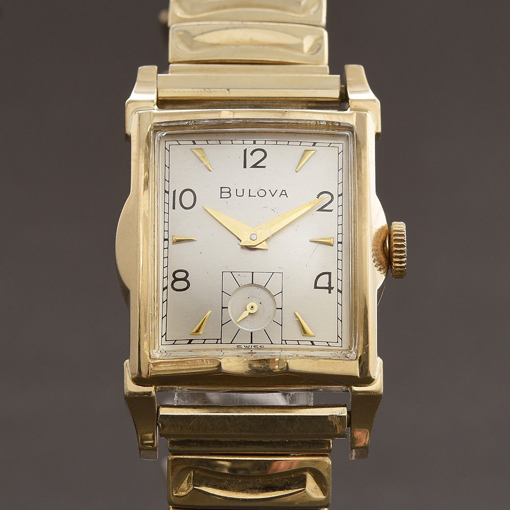 1953 BULOVA 'Ambassador A' Vintage Gents Dress Watch