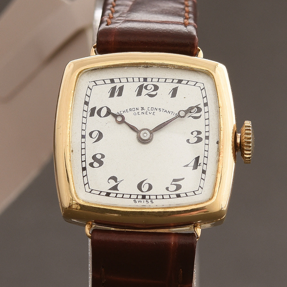 1920 VACHERON&CONSTANTIN Ladies 18K Gold Art Deco Watch