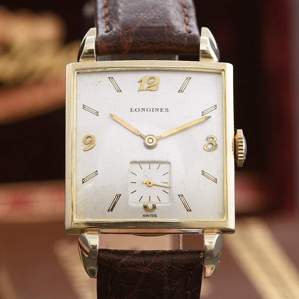 "1948 LONGINES ""Whitman"" Gents Vintage Dress Watch +Box"