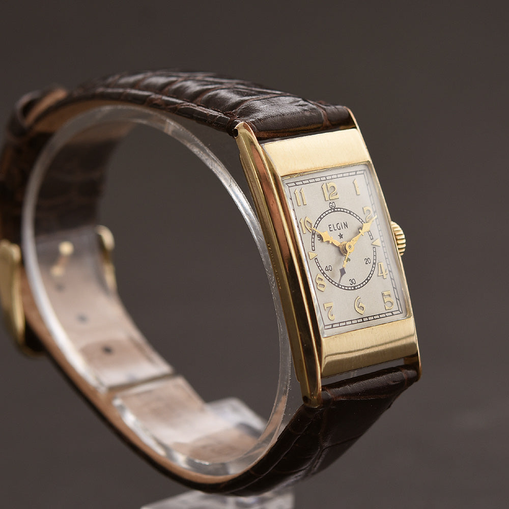 1936 ELGIN 'Dr Osler' Art Deco Doctor's Vintage Gents Watch