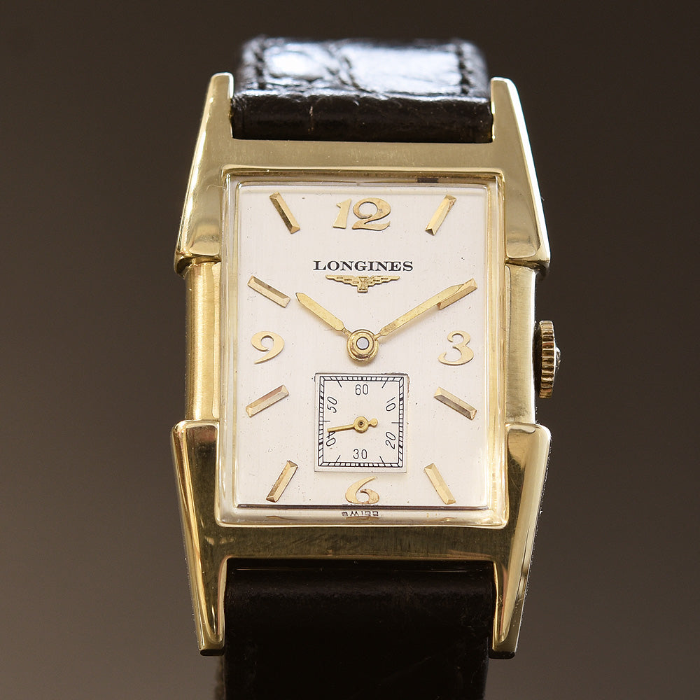 1953 LONGINES Gents 14K Solid Yellow Gold Vintage Watch