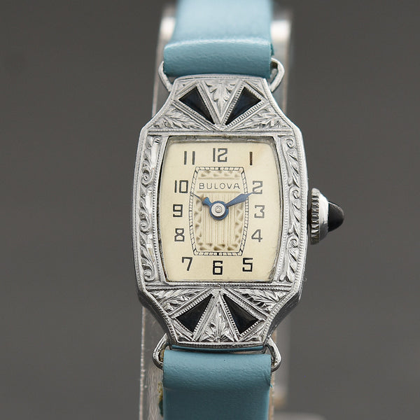 1929 BULOVA Ladies Art Deco Watch