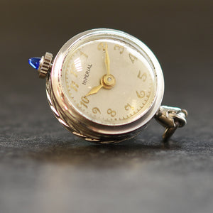40s IMPERIAL Swiss Ladies Pendant Ball Watch