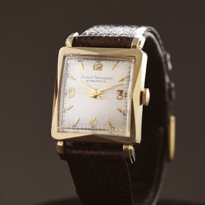 50s GIRARD-PERREGAUX Gyromatic Gents Vintage Dress Watch