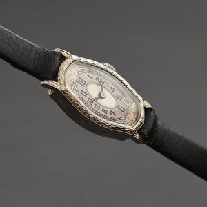 20s GOERING Ladies Art Deco 14K Gold Watch