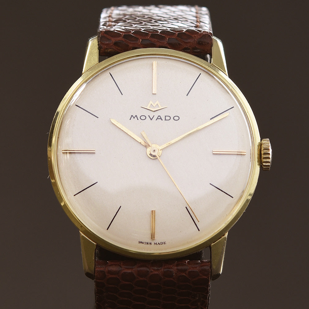 60s MOVADO Gents Vintage Dress Watch