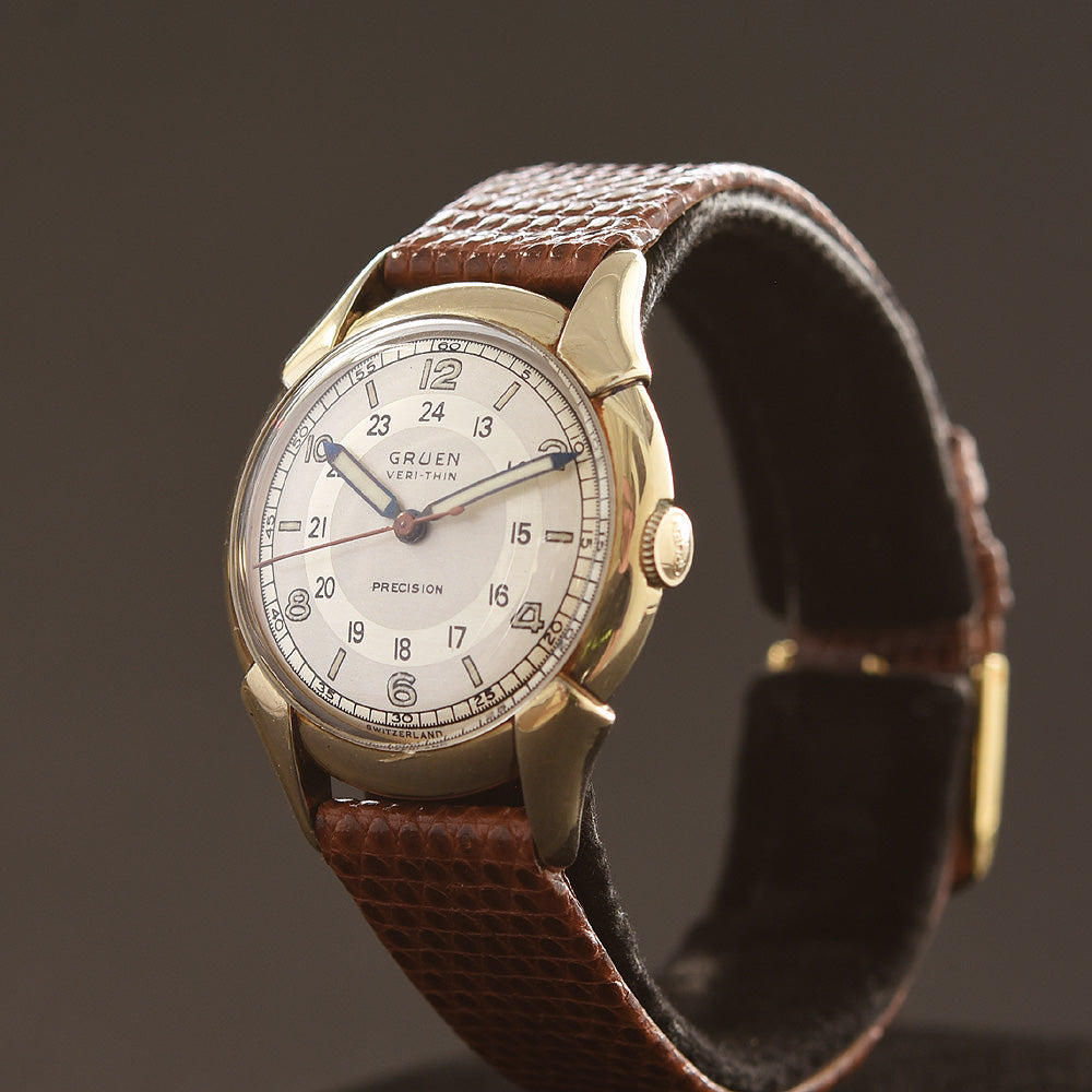 1946 GRUEN 'Pan Am' Veri-Thin Gents Dress Watch