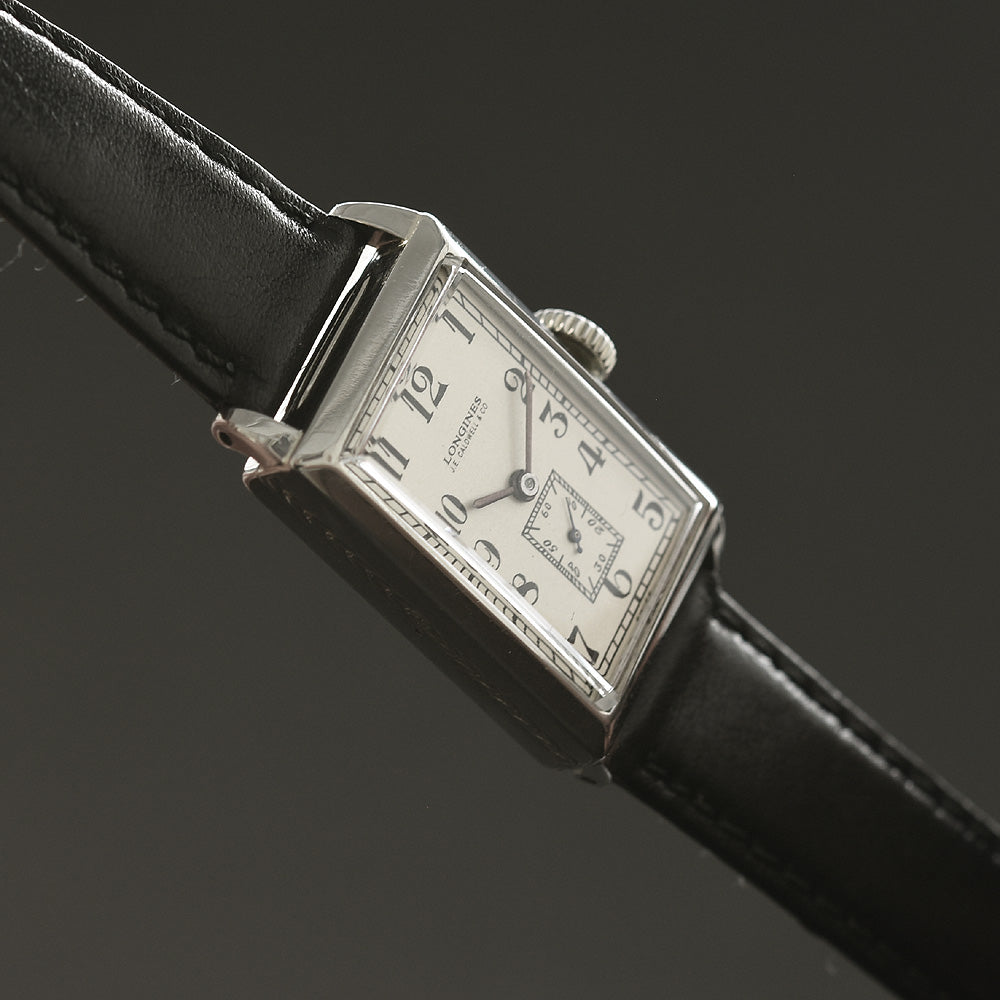 1926 LONGINES J.E. Caldwell Gents Art Deco Dress Watch