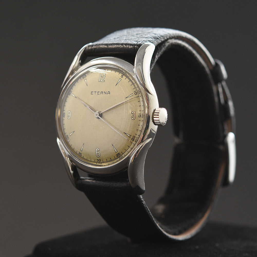 40s ETERNA Classic Vintage Gents Stainless Steel Watch