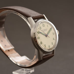 40s UNIVERSAL GENEVE Gents Classic Vintage Watch